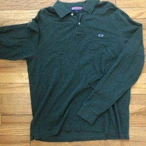 Vineyard Vines Shirts - ⬇️60 Vineyard Vines Green Long Sleeve Polo L